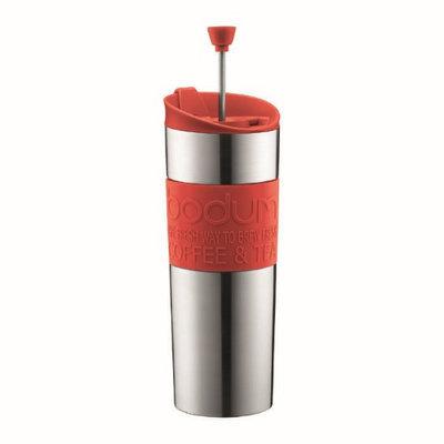 Bodum Double-Wall Stainless Steel Travel Coffee & Tea Press, 0.45L.