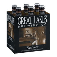 Great Lakes Brewing Co. Eliot Ness Handcrafted Amber Lager - 6 PK