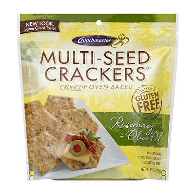 Crunchmaster Multi-Seed Rosemary & Olive Oil Crackers