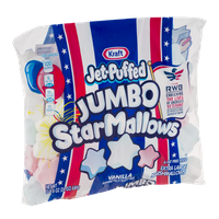 Kraft Jet-Puffed Jumbo StarMallows Marshmallows Vanilla