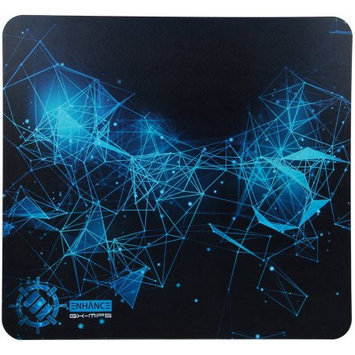 Accessory Power ENHANCE GX-MP5 Hard Gaming Mouse Pad with ABS Plastic Surface & Non-Slip Rubber Backing