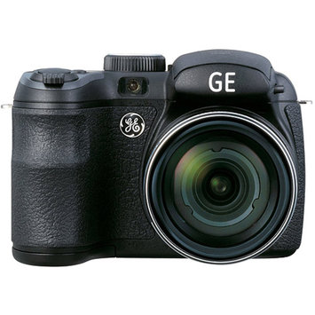 GE Refurbished Black Power PRO Series X500-BK/B Compact System Digital Camera with 16 Megapixels, 15x Optical Zoom and 4.9mm-73.5mm Lens Included