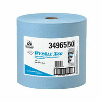 Kimberly-Clark Professional - Wypall X60 Wipers Wypall X60 Teri Wipers Jumbo Roll Blue 1100: 412-34965 - wypall x60 teri wipers jumbo roll blue 1100