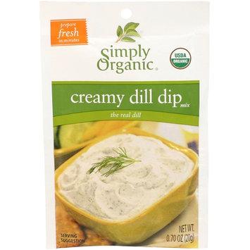 Simply Organic Certified Organic Creamy Dill Dip Mix