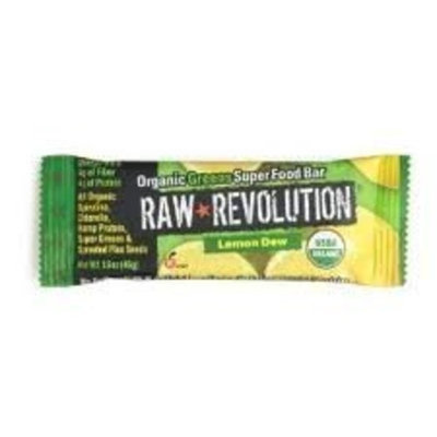 Raw Revolution, Organic Lemon Greens Bar, 20/1.6 Oz