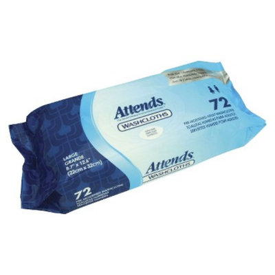 Attends Washcloths - Disposable (Case of 576)