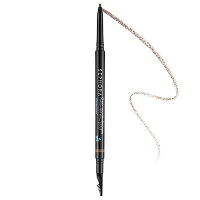 SEPHORA COLLECTION Retractable Brow Pencil - Waterproof 03 Rich Chestnut 0.003 oz