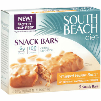 South Beach Diet Whipped Peanut Butter Snack Bars