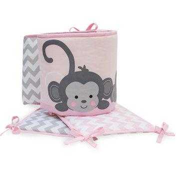 Lambs & Ivy Bedtime Originals Pinkie Crib Bumper