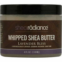 Shea Radiance Whipped Shea Butter Lavender Bliss 4 oz