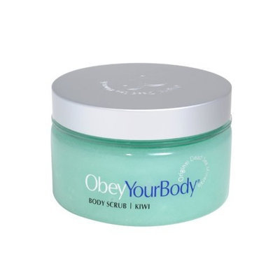 Obey Your Body Mineral Body Salt Scrub Treatment Exfoliating Kiwi - ADSBeauty