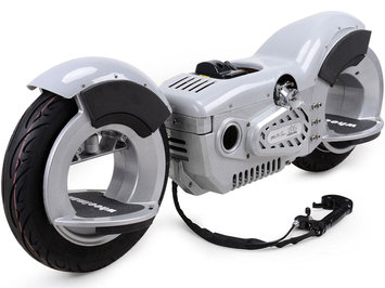 Big Toys MotoTec Wheelman V2 50cc Gas Silver