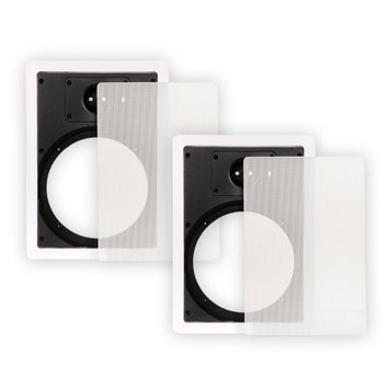 Theater Solutions 65WFG Frames and Grills for 6.5 Inch In Wall Speakers