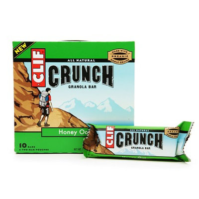 Clif Crunch All Natural Granola Bars Honey Oat