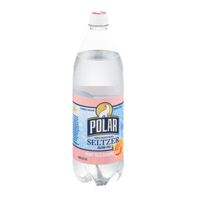 Polar Calorie-Free Seltzer Ruby Red Grapefruit