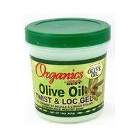 Africa's Best Africas Best Organic Olive Oil Gel Twist & Lock 15 oz. Jar (Pack of 8)
