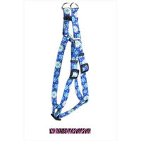 Yellow Dog Design SI-ZBP101S Zebra Pink Step-In Harness - Small