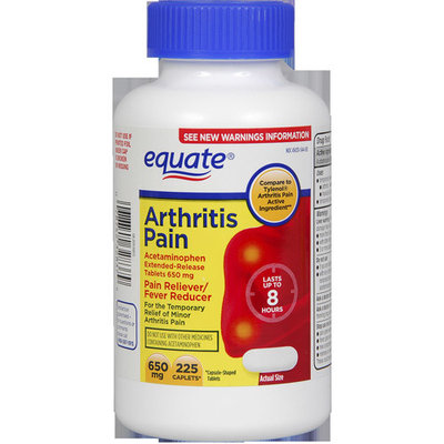 Equate Arthritis Pain Reliever, 225ct