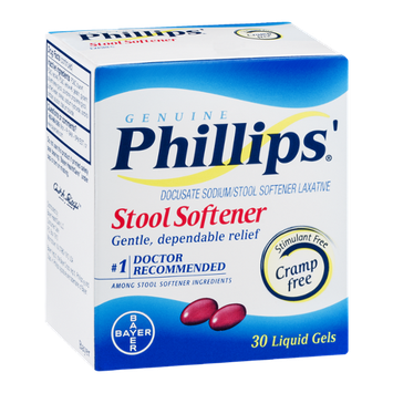 Phillips' Stool Softener Liquid Gels