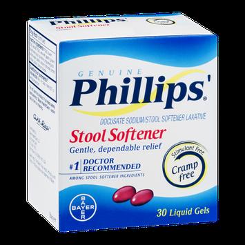 Phillips' Stool Softener Liquid Gels