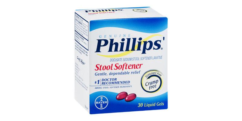 Phillips Stool Softener Liquid Gels Reviews 2019