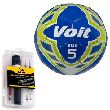 Lion Sports Inc. Radente Soccer Ball with Ultimate Inflating Kit