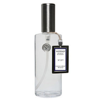 Votivo Fragrance Mist, Clean Crisp White, 4 fl oz