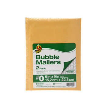 Duck Cushioned Bubble Mailers -  6