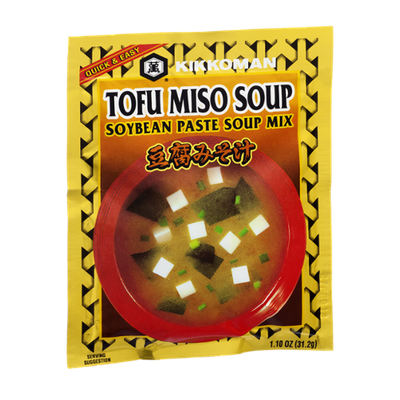 Kikkoman Soup Mix Soybean Paste Toufu Miso Soup