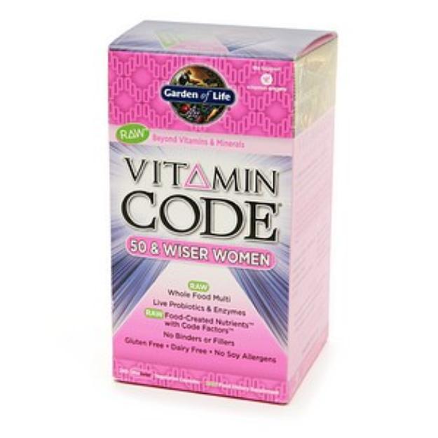 Garden of Life Vitamin Code 50 & Wiser Women's Multi