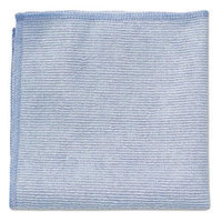 RCP1820579 - Rubbermaid Commercial Microfiber Cleaning Cloths; 12 x 12; Blue; 24/Pack