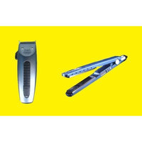 BaBylissPRO Babyliss PRO BABNT2091T Nano Titanium 1-1/4 inch Floating Plate Sol-Gel Technology Ionic Generator Flat Iron (450°F) WITH FREE FORFEX FX686 Pivot Motor Clipper with Four Guide Comb Attachments