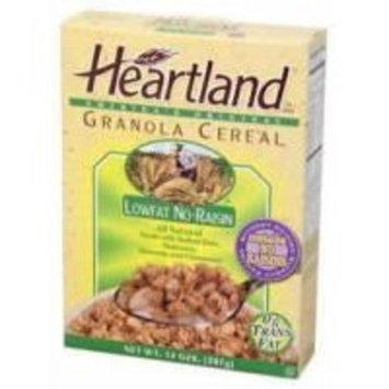 Heartland Brands Granola Cereal Low Fat No Raisin (6x14oz)