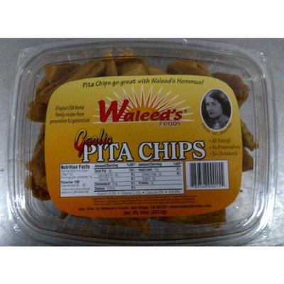 Waleed's Pita Chip - Garlic, 16 Ounce