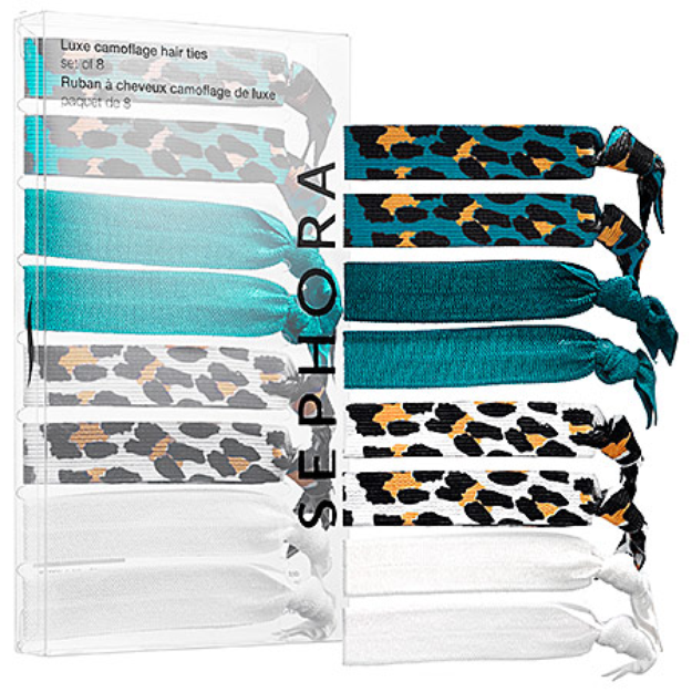 SEPHORA COLLECTION Luxe Camouflage Hair Ties