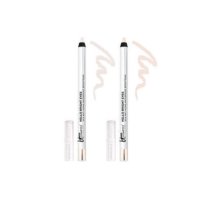 IT Cosmetics Hello Bright Eyes Silk Anti-Aging Waterproof Brightener Duo