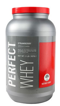 Turesbest Natureapos;sBest NBSTWHEY02LBSTRAPW Perfect Whey 2 lb Strawberry