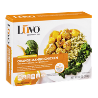 Luvo Orange Mango Chicken with Whole Grains, Kale & Broccoli