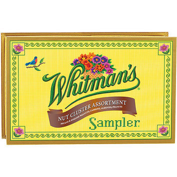Whitman's Nut Cluster Assortment Sampler, 22 count, 10 oz