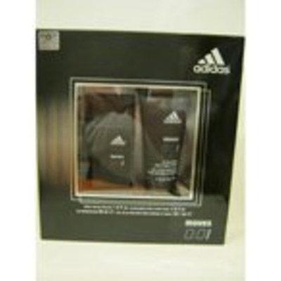 Adidas MOVES 0:01 2 Pc Giftset- Eau De Toilette Spray 1 fl. Oz ph Balanced Hair & Body Wash 2 Oz.