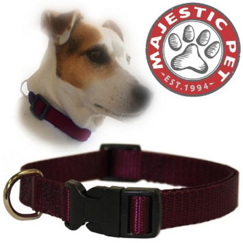 Target Home Majestic Pet Adjustable Collar - Burgundy (Large)