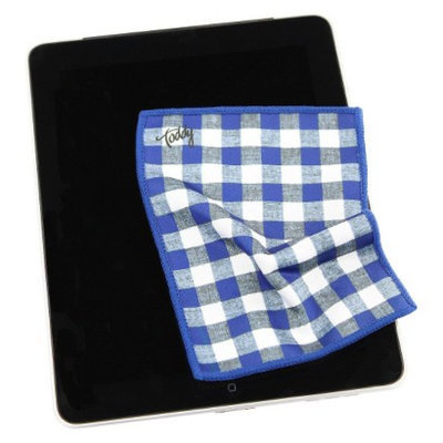 Toddy Gear Inc Toddy Gear 5x7 Smart Cloth Premium Microfiber - Gingham Style (GIE-
