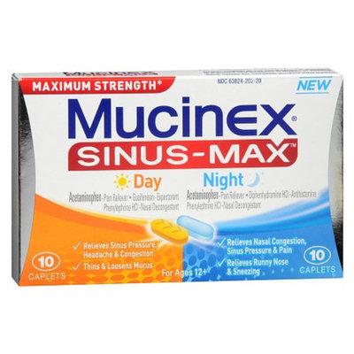 Mucinex Sinus-Max Day and Night Caplets