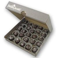Salted Caramels in Dark Chocolate - 25 Piece Bulk Box - by Dilettante