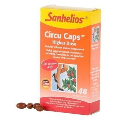 Circu Caps Higher Dose 48 Cap By Sanhelios