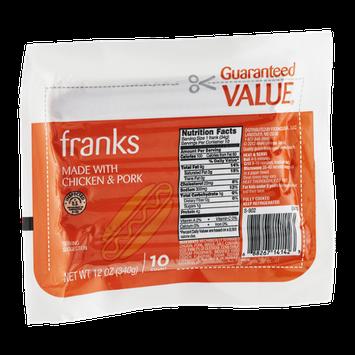 Guaranteed Value Franks