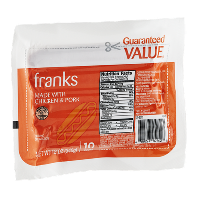 Guaranteed Value Franks