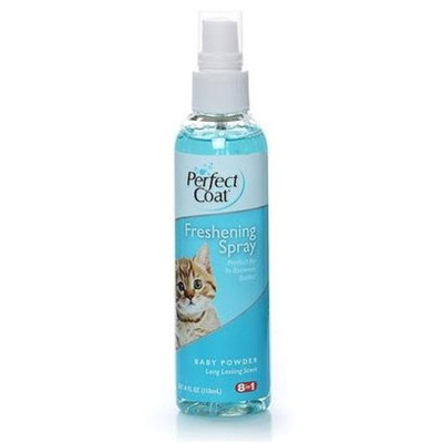 Mojetto Perfect Coat Cat Detangling & Freshening Spray, 4-Ounce Pump