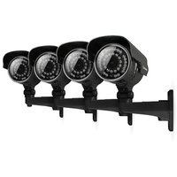 Defender 4 Ultra Resolution Security Cameras, Outdoor 100 ft Night Vision