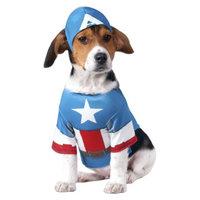 Marvel Captain America Pet Costume - Medium